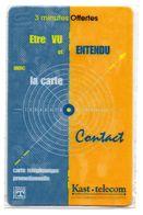 Ancienne Carte Prépayée Privée KAST-TELECOM / CIBLE (NSB) (Voir Photos Recto/verso Et Description) - France