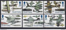 Guernsey 1998 - Mi-Nr. 773-778 ** - MNH - Flugzeuge / Airplanes - Vliegtuigen