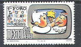 M1799 ✅ Cinema Film Festival Cartoons Children's Fairy Tales 1976 Mexico 1v Set MNH ** - Cinema