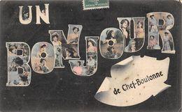 20-8361 : SOUVENIR DE... UN BONJOUR DE CHEF-BOUTONNE - Chef Boutonne