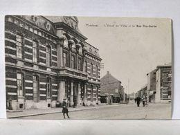 Tamines. Hôtel De Ville Et La Rue Ste Barbe - Sambreville