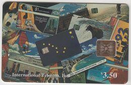 ALASKA - Montage Of Phonecards (P 01), Tirage 2500, 05/94, Mint - Télécartes