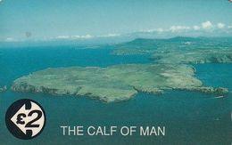 ISLE OF MAN(GPT) - The Calf Of Man, CN : 21IOMA, Tirage 5980, Used - Man (Ile De)