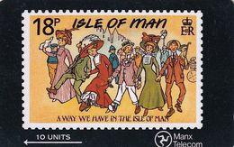 ISLE OF MAN(GPT) - Stamp, CN : 6IOMB, Tirage 15000, Used - Man (Ile De)