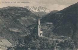 2c.555.  S. GIORGIO Sopra GRIES-BOLZANO - BOZEN Gegen Die Mendel - 1900 - Bolzano (Bozen)