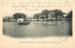Gambie - Bathurst - Gambia River - Firm Of Maurel Et H. Prom - Animée - Précurseur - Oblitération Ronde De 1904 - CPA - - Gambie