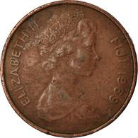 Monnaie, Fiji, Elizabeth II, Cent, 1969, TB+, Bronze, KM:27 - Fiji