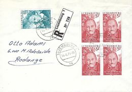 Luxembourg - Lettre Recommandé  14.6.1979 - Luxemburgo