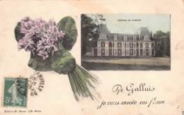 78 - YVELINES - GALLUIS - 10340 - Château De Lieutel - Freneuse