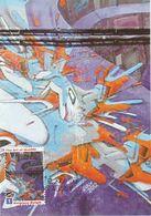 Carte Maximum Peinture Belgique 2011 Art Of Graffiti Street  Art - Maximum Cards
