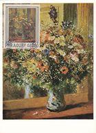 Carte Maximum Peinture Paraguay 1975 Auguste Renoir - Paraguay