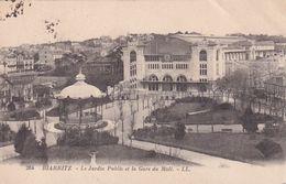 Biarritz  Le Jardin Public Et La Gare Du Midi - Biarritz