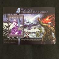REPUBLIQUE DE GUINÉE. DE GAULLE. ARDENNES. MNH. 5R2705A - De Gaulle (General)
