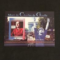 REPUBLIQUE DE GUINÉE. DE GAULLE. LIBERATION PARIS. MNH. 5R2705B - De Gaulle (General)