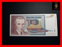 YUGOSLAVIA 5.000.000 5000000 Dinara 1993  P. 121 - Joegoslavië