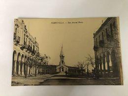 TUNISIA - FERRYVILLE -  RUE AMIRAL PONTY - 1910 - Túnez
