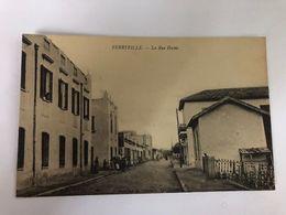 TUNISIA - FERRYVILLE - LA RUE HOCHE - 1910 - Túnez