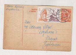 YUGOSLAVIA,1961  Postal Stationery Answer Send From SALZBURG Austria - Covers & Documents