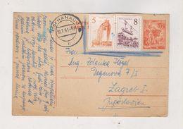 YUGOSLAVIA,1961  Postal Stationery Answer Send From Hanau Germany - Covers & Documents