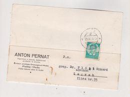 YUGOSLAVIA,1936 MEZA Firm Postcard - Briefe U. Dokumente