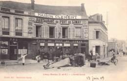 78 - YVELINES - LIMAY - 10373 - Accident - Arrêt Forcé - Maison CLEMENT - Restaurant Du Pont De Limay - Limay