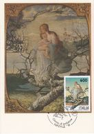 Carte Maximum Peinture Italie Italia 1991 G Segantini - Maximum Cards