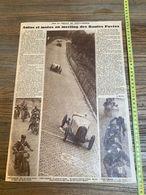 1930 M CIRCUIT DE PONT A MARCQ MEETING DES ROUTES PAVEES MONTIER PLUQUET OGEZ - Collections