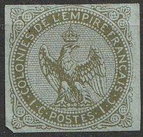 Colonies Emissions Générales 1859-65 N° 1 Type Aigle Impérial (F22) - Eagle And Crown