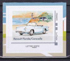 FRANCE 2020 Voitures Et Vacances Cars Adhesive Renault Floride MNH ** - Cars