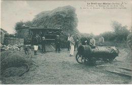 CPA   72  LE BREIL SUR MERISE ACCIDENT DE BATTAGE DU 22 AOUT 1923  5 MORTS  12 BLESSES LA LOCOMOTIVE EXPLOSE - Autres Communes