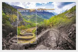 Norway 2020 - Europa 2020 - Ancient Postal Roads, Vindhellavegen - Miniature Sheet - Ganze Jahrgänge