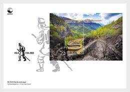 Norway 2020 - Europa 2020 - Ancient Postal Roads, Vindhellavegen FDC - Ganze Jahrgänge