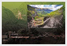 Norway 2020 - Europa 2020 - Ancient Postal Roads, Vindhellavegen Golden FDC - Ganze Jahrgänge