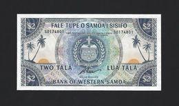 TWN - WESTERN SAMOA 17cCS - 2 Tala 1967 UNC - Limited Official Reprint 2020 - Samoa