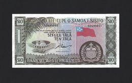TWN - WESTERN SAMOA 18dCS - 10 Tala 1967 UNC - Limited Official Reprint 2020 - Samoa