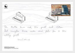 Norway 2020 - Munch Museum FDC - Ganze Jahrgänge