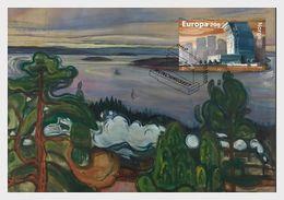 Norway 2020 - Munch Museum Maxicard - Ganze Jahrgänge