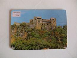 Castle Castelo De Leiria Portugal Portuguese Pocket Calendar 1985 - Calendriers