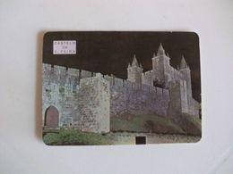 Castle Castelo De Vila Da Feira Portugal Portuguese Pocket Calendar 1985 - Calendriers