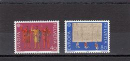 Suisse - Année 1982 - Neuf** - N°Zumstein 670/71** - Europa - Nuovi