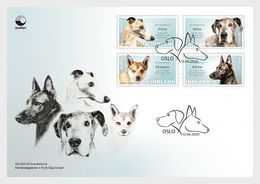 Norway 2020 - Dogs FDC - Ganze Jahrgänge