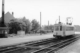 St-Stevens-Woluwe (Vliegers Plaats). SNCV Brabant. Cliché Jacques Bazin. 12-05-1961 - Trains