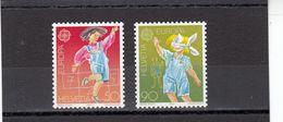 Suisse - Année 1989 - Neuf** - N°Zumstein 775/76** - Europa - Nuovi