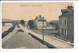 Carte De COMPIEGNE Rue De L'estacade ( Mauvais état ) - Compiegne
