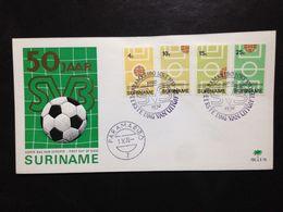 Suriname, Uncirculated FDC, « Football », 1970 - Surinam