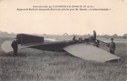 78 - YVELINES - TOUSSUS LE NOBLE - 10457 - Aérodrome Robert Esnault-Pelterie Atterrisage M.Marie - Toussus Le Noble