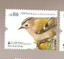 Portugal ** & Europa CEPT, National Birds, Ferfolha, Regulus Regulus Azoricus, Açores 2019 (8721) - Azores