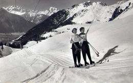 Skilift Riederalp - Blausee - Mischabel - Metterhorn Weisshorn - Formato Piccolo Viaggiata – E 16 - Postcards