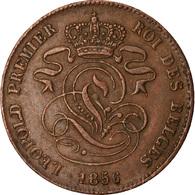Monnaie, Belgique, Leopold I, 2 Centimes, 1856, TTB, Cuivre, KM:4.2 - 1831-1865: Leopold I