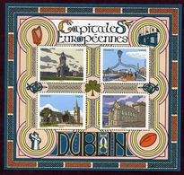 "BLOC-FEUILLET** De 2020 De 4 Timbres Gommés ""Capitales Européennes : DUBLIN"" - Nuevos"